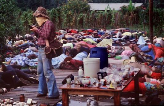 Actual Jonestown Image.